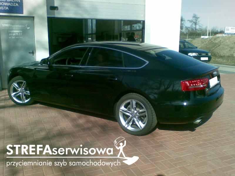 3 Audi A5 8T sportback Tył 35%