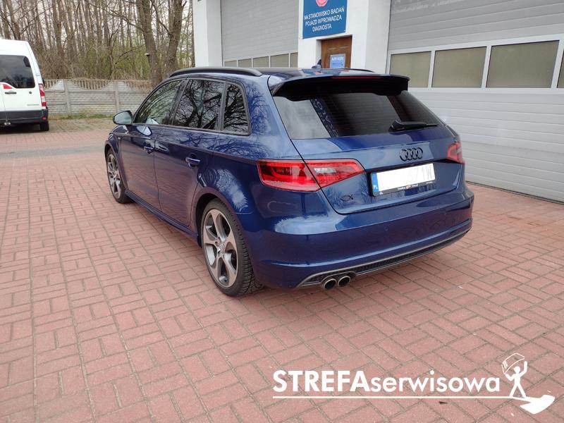 4 Audi A3 8V hatchback 5d Tył 20%