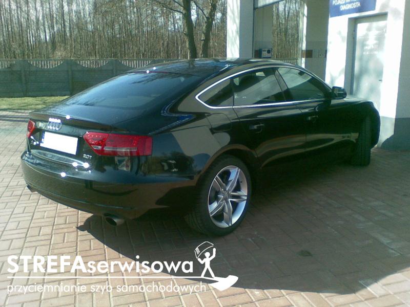 4 Audi A5 8T sportback Tył 35%