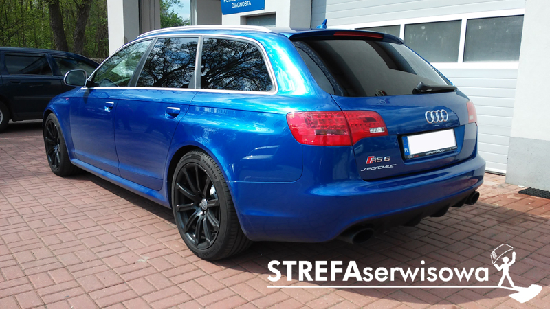 4 Audi A6 C6 kombi Tył 5%