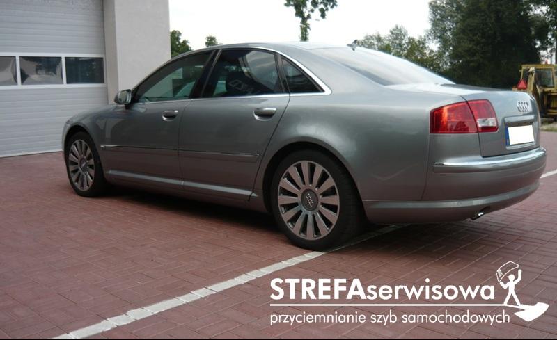 7 Audi A8 D3 Przód 50% Tył 35%