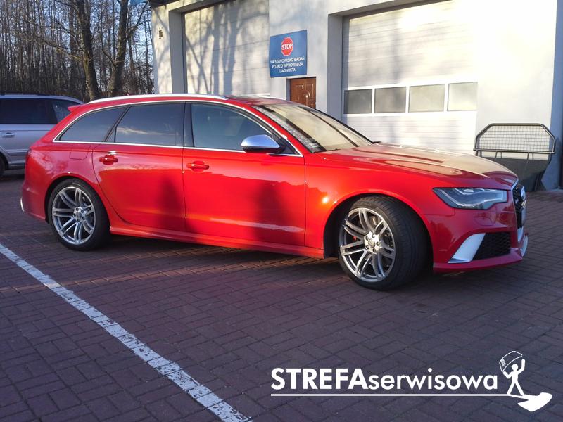 9 Audi A6 C7 kombi Przód 50% Tył 20%