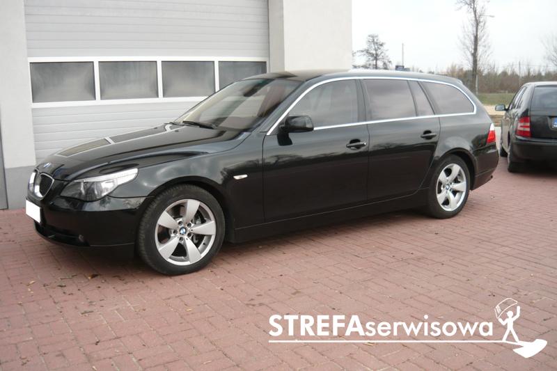 1 BMW 5 E61 Przód 50% Tył 20%