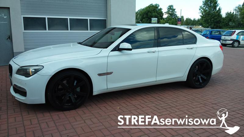 1 BMW 7 F01 Przód 50% Tył 5%