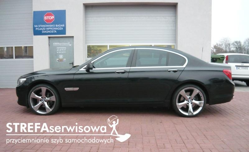 10 BMW 7 F01 Przód 50% Tył 35%