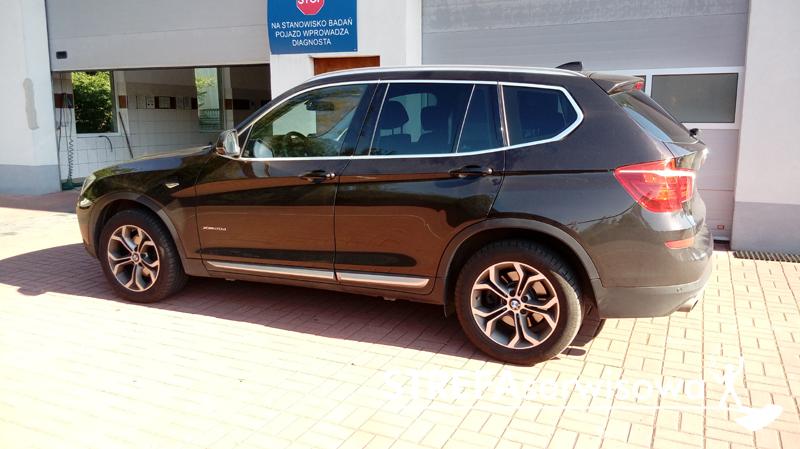 19 BMW X3 F25 Tył 20%