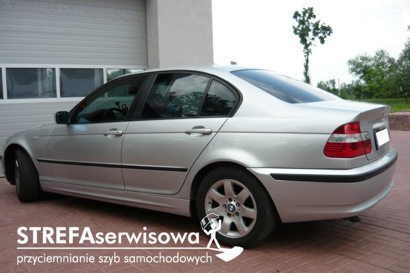 2 BMW 3 E46 sedan Przód 50 Tył 35%