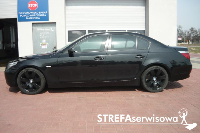 2 BMW 5 E60 Przód 50% Tył 50%