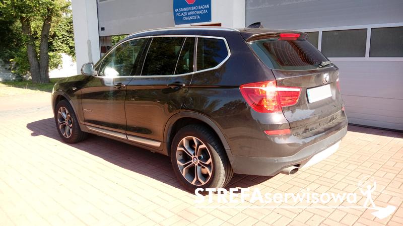 20 BMW X3 F25 Tył 20%