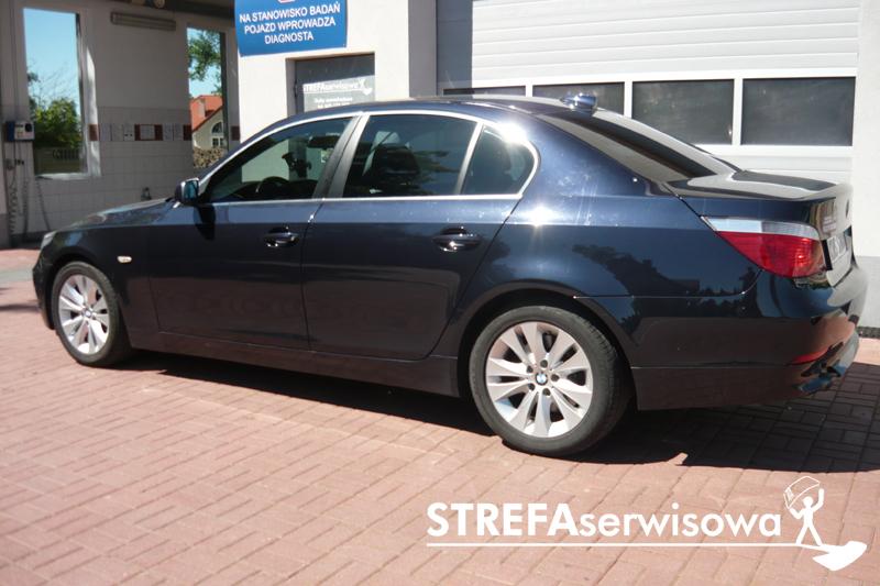 22 BMW 5 E60 Przód 50% Tył 35%