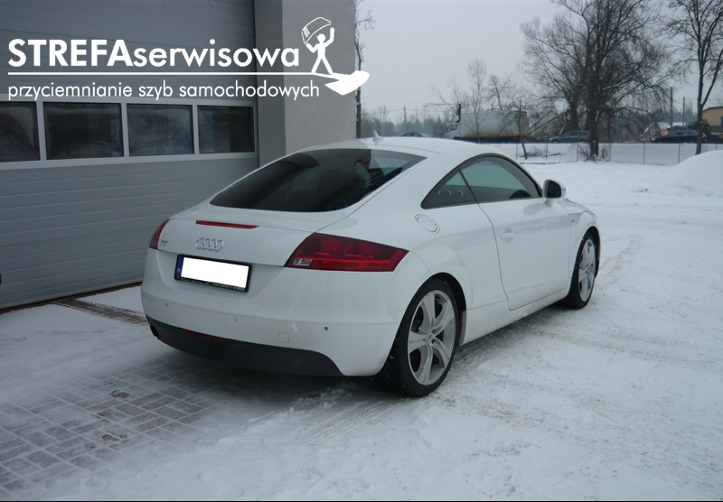 3 Audi TT 8J Przód 50% Tył 35%