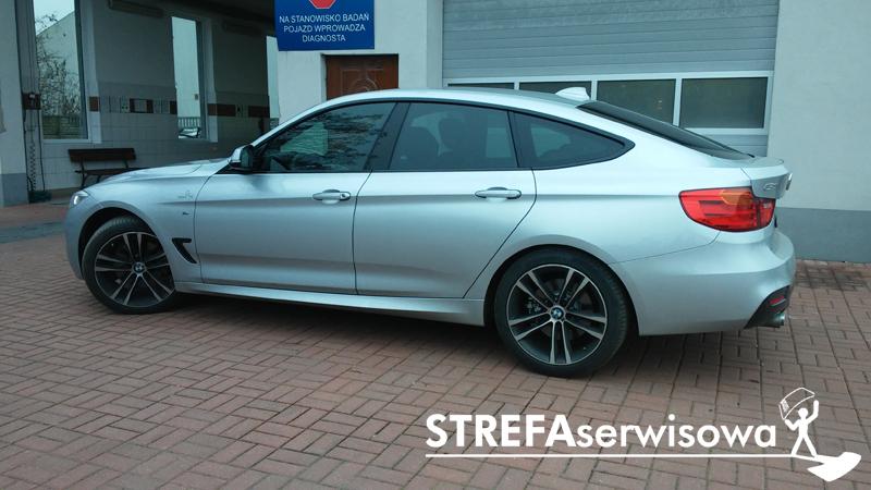 3 BMW 3GT F34 Przód 50% Tył 35%