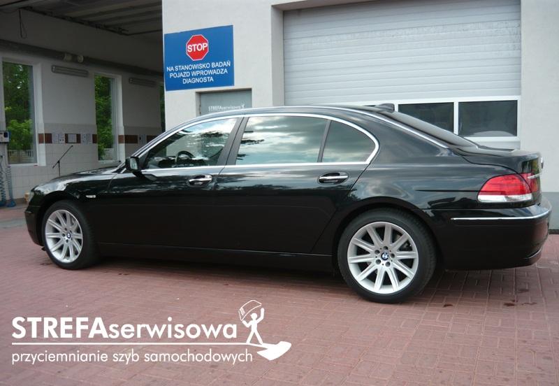 3 BMW 7 E66 Przód 70% Tył 5%