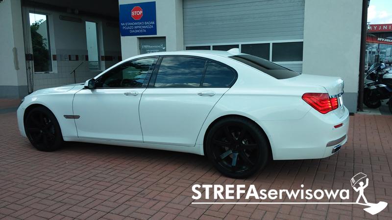 3 BMW 7 F01 Przód 50% Tył 5%
