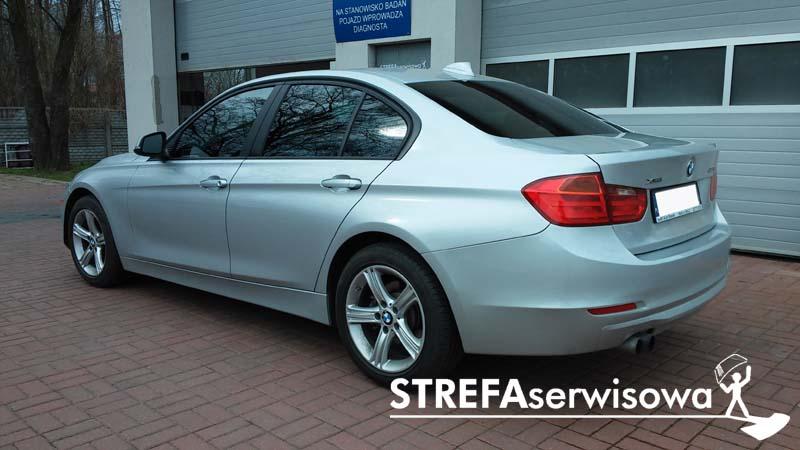 4 BMW 3 F30 Przód 50% Tył 35%