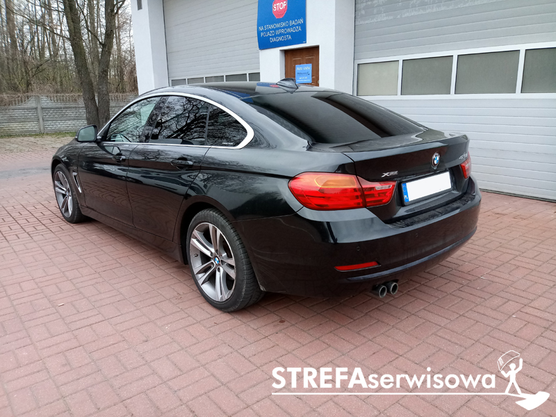 4 BMW 4 Gran Coupe F36 Tył 20%
