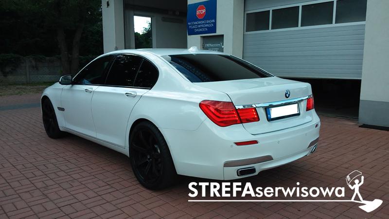 4 BMW 7 F01 Przód 50% Tył 5%