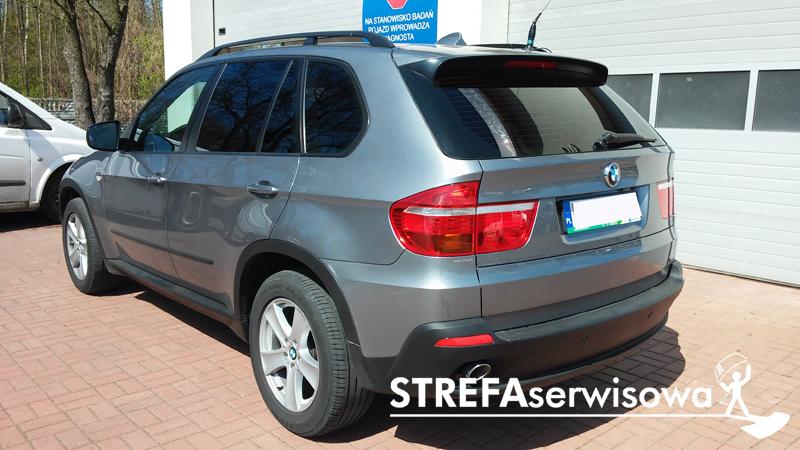4 BMW X5 E70 Przód 50 Tył 5%