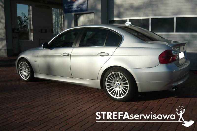 7 BMW 3 E90 Przód 50% Tył 35%