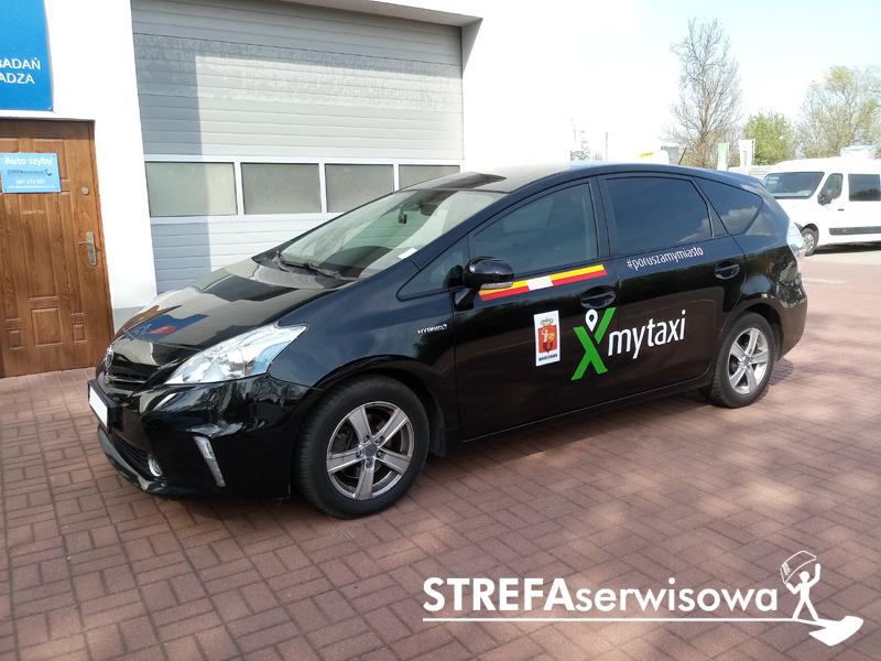 1 Toyota Prius+ Przód 70% Tył 5%
