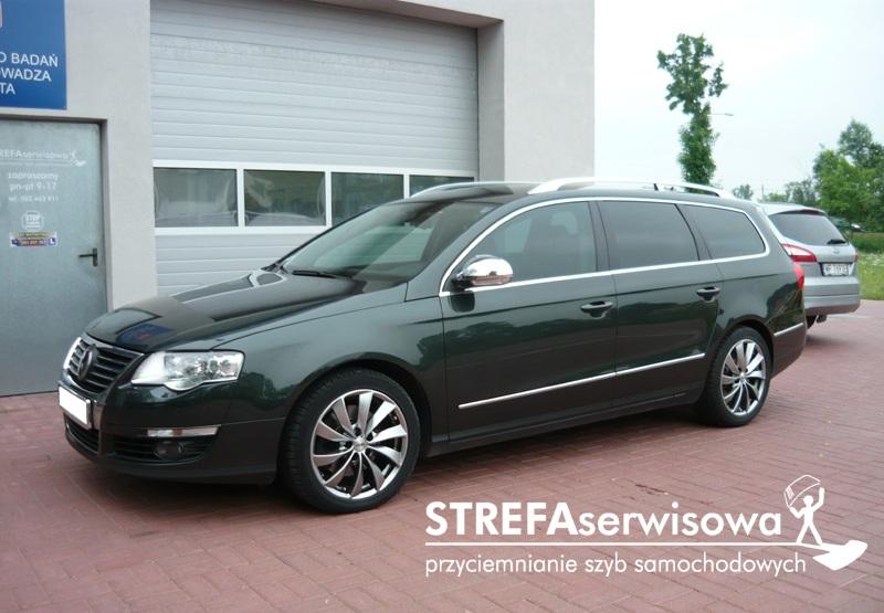 1 VW Passat B6 kombi Przód 50% Tył 35%