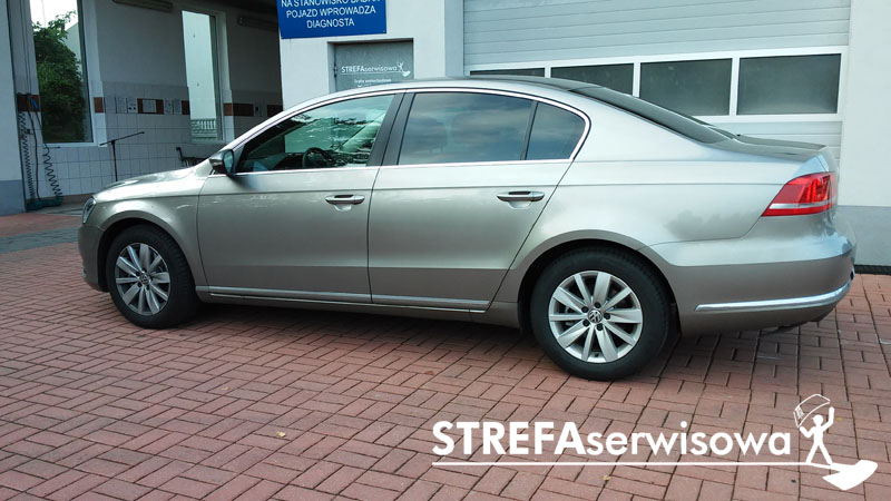 3 VW Passat B7 sedan Tył 20%