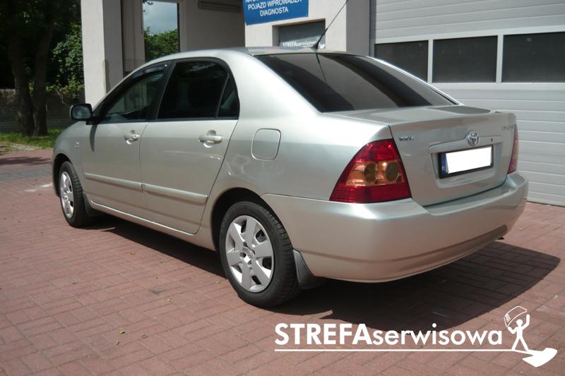 4 Toyota Corolla IX sedan Tył 20%