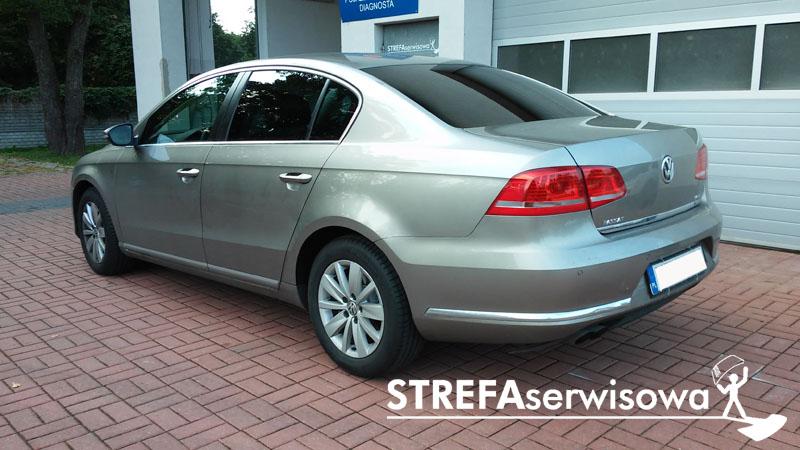 4 VW Passat B7 sedan Tył 20%