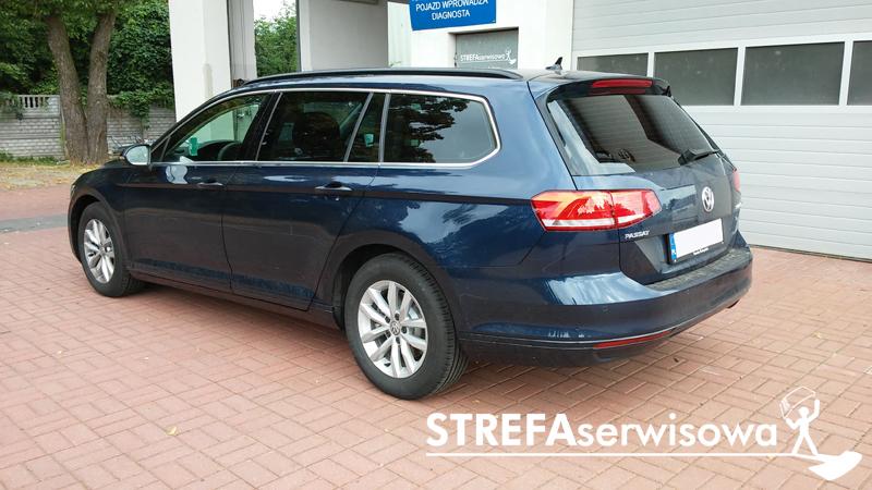 4 VW Passat B8 kombi Tył 20%