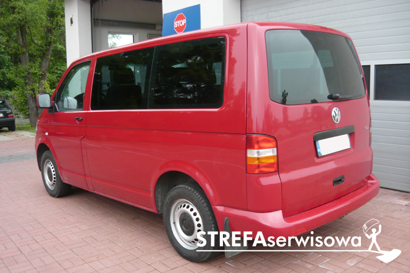 4 VW Transporter T5 Tył 20%