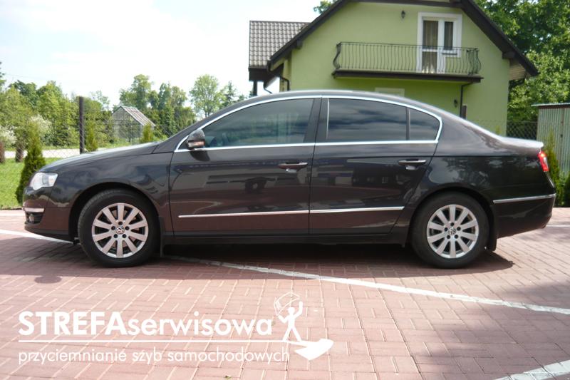 5 VW Passat B6 sedan Przód 50% Tył 5%