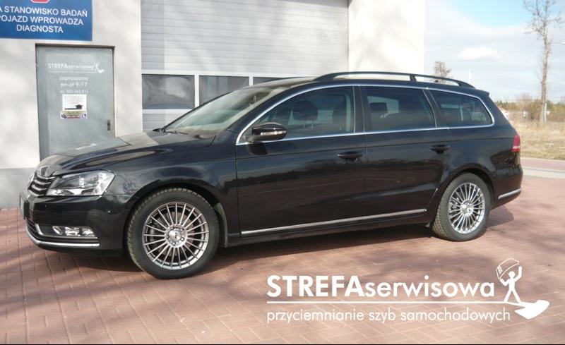 5 VW Passat B7 kombi Przód 50% Tył 35%