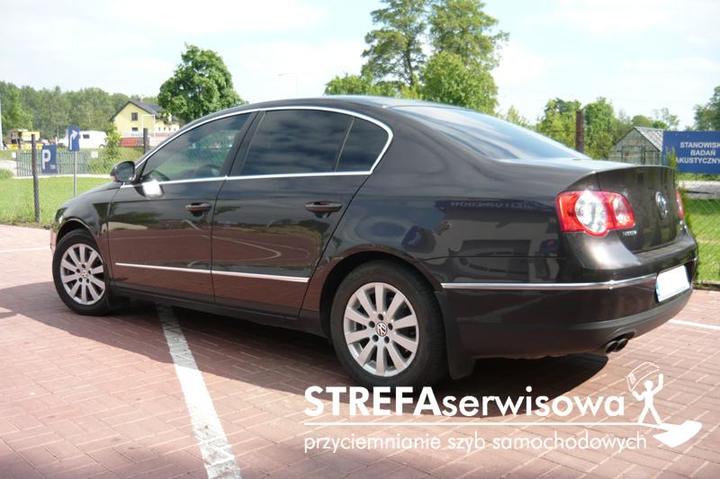 6 VW Passat B6 sedan Przód 50% Tył 5%