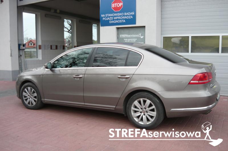 7 VW Passat B7 sedan Tył 20%