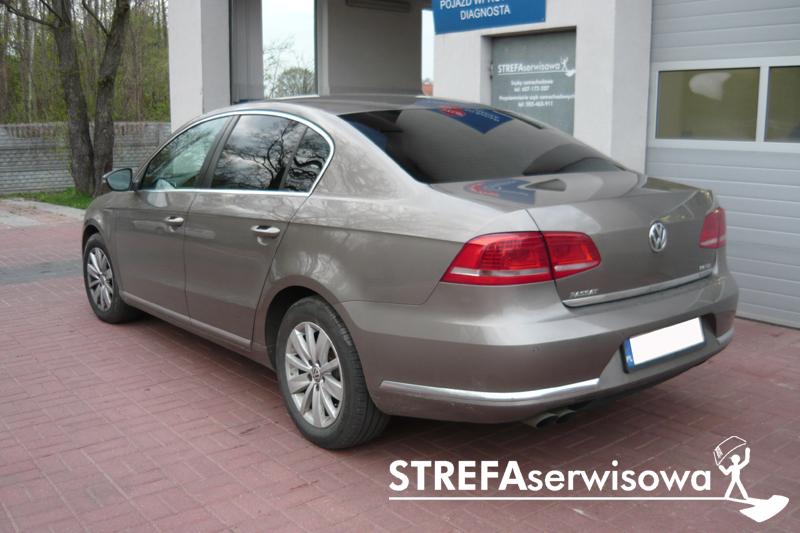 8 VW Passat B7 sedan Tył 20%