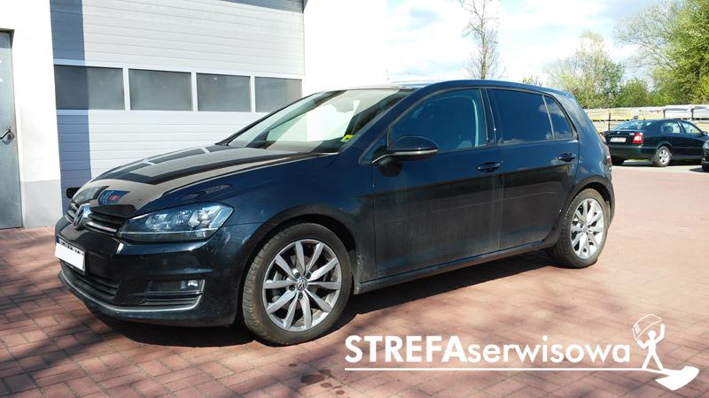 9 VW Golf VII hatchback 5d Tył 5%