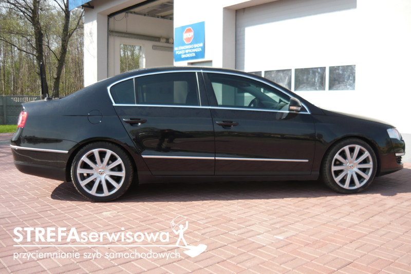 9 VW Passat B6 sedan Przód 50% Tył 35%